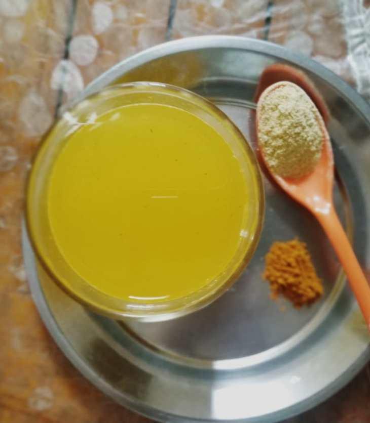 Methi-Haldi-Coolant